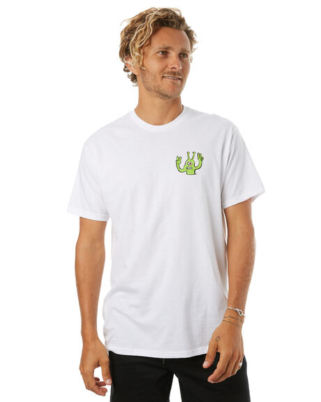 WHITE MENS CLOTHING VOLCOM TEES - A504175GWHT