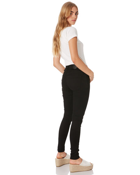 BACK IN BLACK WOMENS CLOTHING RES DENIM JEANS - RES-28BACK