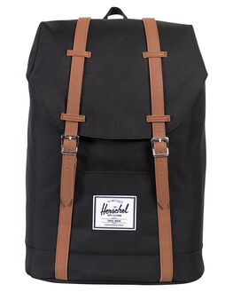 BLACK WOMENS ACCESSORIES HERSCHEL SUPPLY CO BAGS + BACKPACKS - 10066-00001-OSBLK