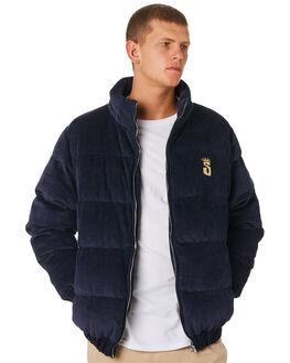BLUE NIGHTS MENS CLOTHING STUSSY JACKETS - ST091500BLN