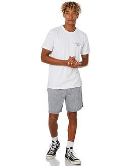 WHITE MENS CLOTHING KATIN TEES - TSNOP06WHT