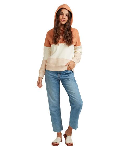 TOASTED NUT WOMENS CLOTHING ROXY JUMPERS - URJFT03085-CKN0