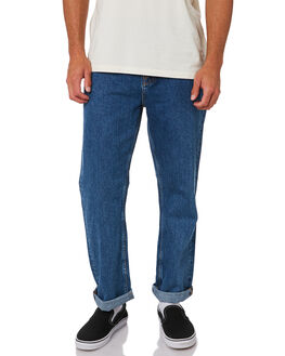 FRIENDLY BLUE MENS CLOTHING NUDIE JEANS CO JEANS - 113303FRBL
