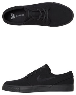 BLACK MENS FOOTWEAR NIKE SKATE SHOES - 615957-026