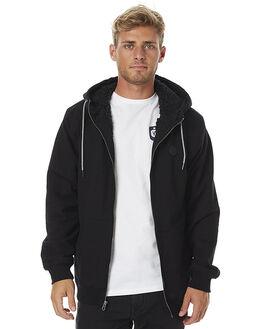 BLACK MENS CLOTHING VOLCOM JUMPERS - A5831600BLK