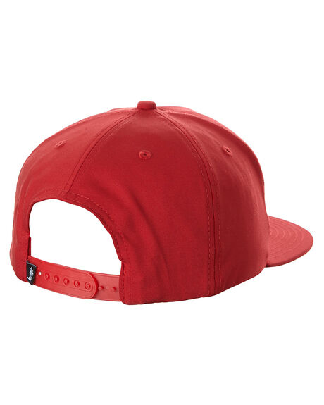 RED MENS ACCESSORIES STUSSY HEADWEAR - ST763000RED