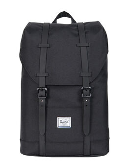 BLACK BLACK RUBBER KIDS BOYS HERSCHEL SUPPLY CO BAGS + BACKPACKS - 10248-01168-OSBLK