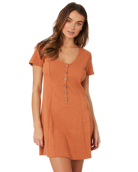 RUST WOMENS CLOTHING SASS DRESSES - 13515DKSSRUST