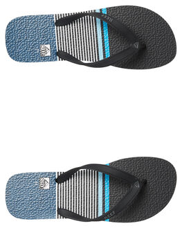 BLUE STRIPE MENS FOOTWEAR REEF THONGS - 220BLS