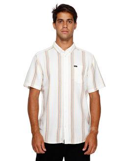 WHITE MENS CLOTHING RVCA SHIRTS - RV-R391191-WHT