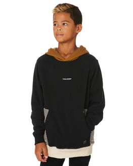 RUST KIDS BOYS VOLCOM JUMPERS + JACKETS - C4131905RST