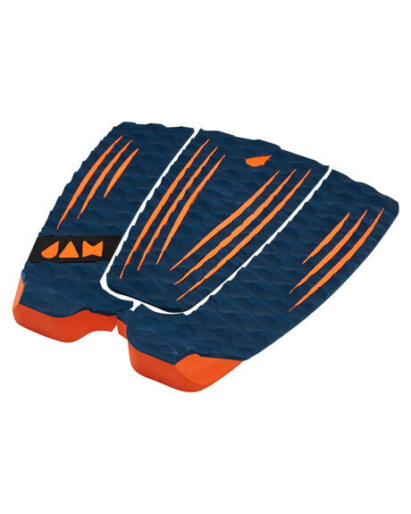 NAVY BOARDSPORTS SURF JAM TRACTION TAILPADS - TPR3PNAVY