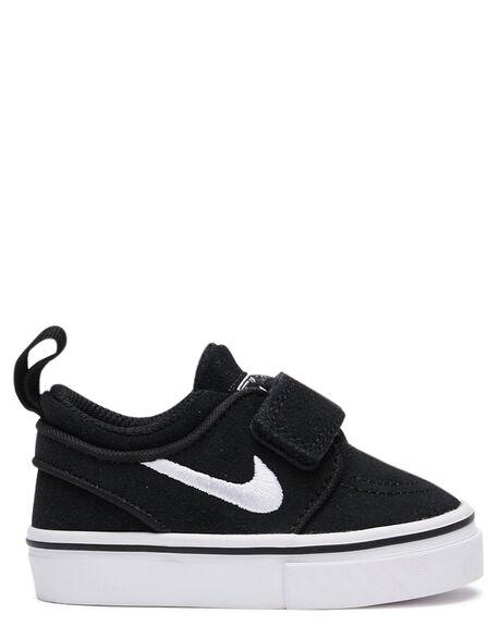 BLACK KIDS BOYS NIKE FOOTWEAR - 705404-001