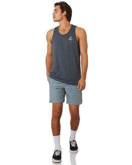 TEAL MENS CLOTHING RHYTHM BOARDSHORTS - JUL19M-JM07-TEA