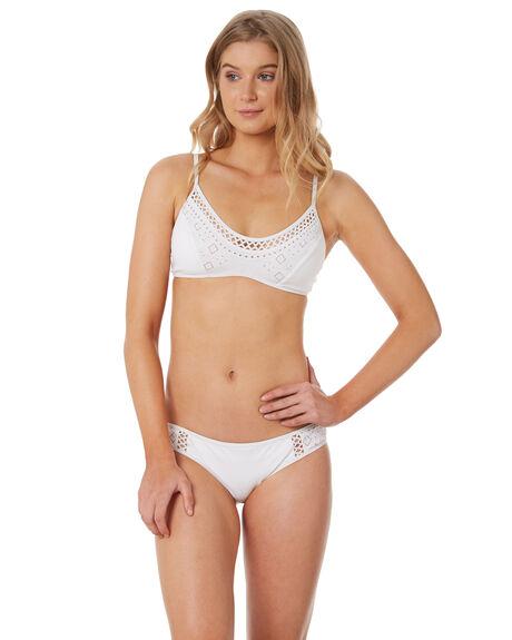 WHITE OUTLET WOMENS JETS BIKINI BOTTOMS - J3601WHT