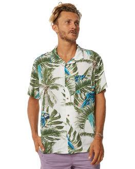 GREY MENS CLOTHING STUSSY SHIRTS - ST073402GRY