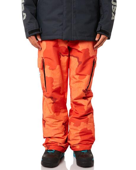 59021b1b3c3d0 Dc Shoes Banshee Snow Pant - Red Orange Dcu Camo | SurfStitch