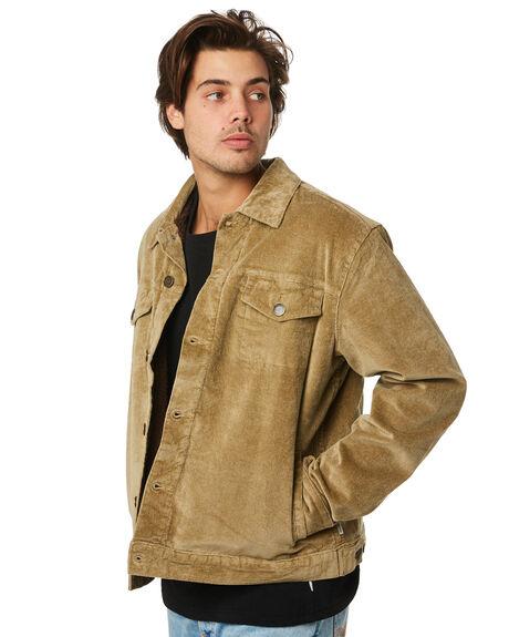 GREEN MENS CLOTHING RHYTHM JACKETS - APR19M-JK02-GRN