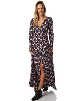 FLORAL WOMENS CLOTHING TIGERLILY DRESSES - T373427FLRL