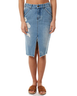 VINTAGE BLUE OUTLET WOMENS BILLABONG SKIRTS - 6586521VBLU