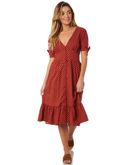 TERRACOTTA OUTLET WOMENS THE HIDDEN WAY DRESSES - H8184452TERRA