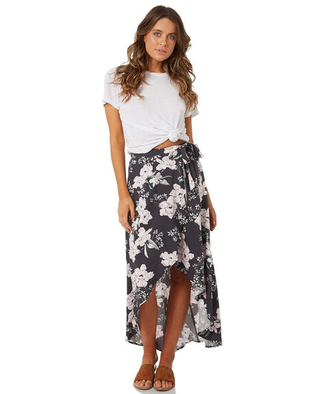 DARK GREY WOMENS CLOTHING RIP CURL SKIRTS - GSKDA11221