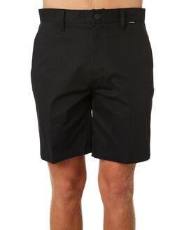 BLACK MENS CLOTHING HURLEY SHORTS - AV7934010