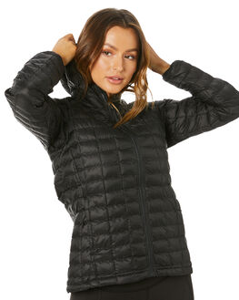 TNF BLACK MATTE WOMENS CLOTHING THE NORTH FACE JACKETS - NF0A3Y3PXYM