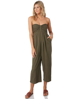 OLIVE WOMENS CLOTHING RIP CURL PLAYSUITS + OVERALLS - GDRIO10058