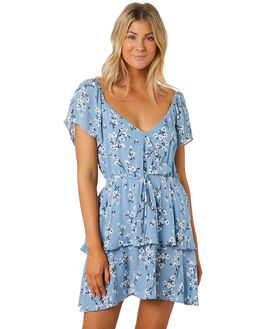MULTI WOMENS CLOTHING MINKPINK DRESSES - MP1908454MULTI