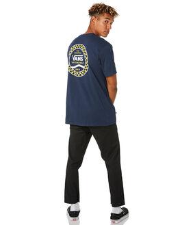DRESS BLUES MENS CLOTHING VANS TEES - VNA4556LKZBLU