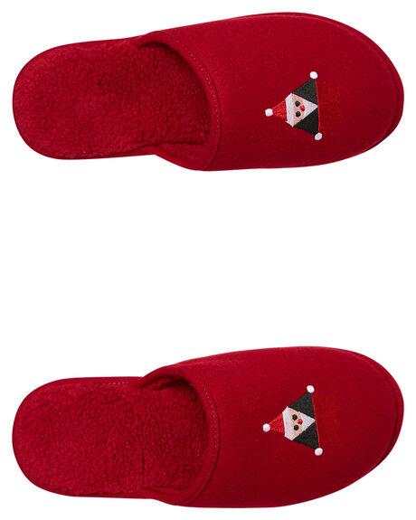 DEEP RED MENS FOOTWEAR VOLCOM SLIP ONS - V3141950DRE