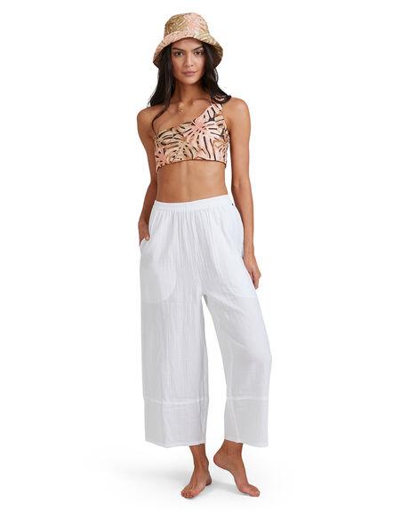 WHITE WOMENS CLOTHING BILLABONG PANTS - BB-6581402-WHT