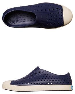 REGATTA BLUE WHITE KIDS BOYS NATIVE FOOTWEAR - 12100100-4200