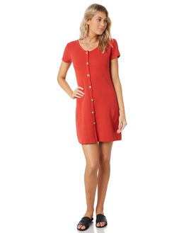 RED WOMENS CLOTHING ALL ABOUT EVE DRESSES - 6444012RED