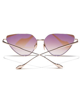 ROSE GOLD WOMENS ACCESSORIES SUNDAY SOMEWHERE SUNGLASSES - SUN700440163