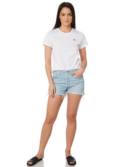 WEAK IN THE KNEES WOMENS CLOTHING LEVI'S SHORTS - 56327-0013WEA