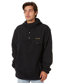 BLACK MENS CLOTHING RIP CURL JUMPERS - CFEOX10090