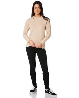 OAT WOMENS CLOTHING VOLCOM KNITS + CARDIGANS - B0711883OAT