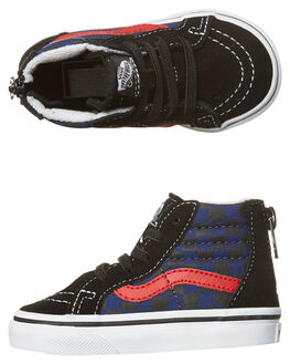 BLACK BLUE DEPTHS KIDS TODDLER BOYS VANS FOOTWEAR - VN-A32R3ODIBLK