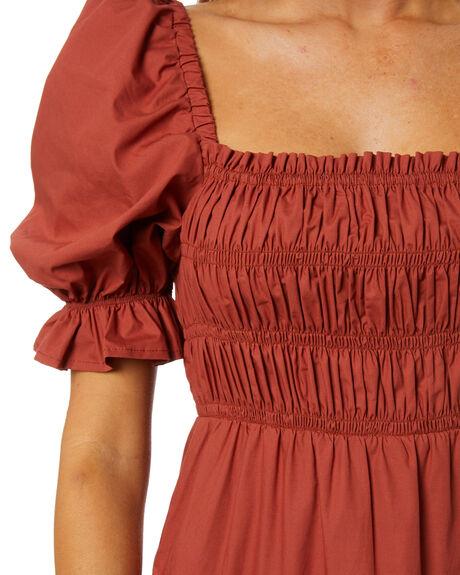 BRICK WOMENS CLOTHING MINKPINK DRESSES - MP2011471BRICK