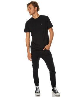 BLACK MENS CLOTHING AFENDS TEES - 01-01-299BLK