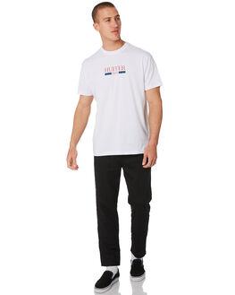 BLACK MENS CLOTHING HUFFER PANTS - MPA93S5701BLK