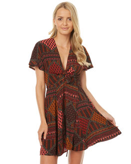 DIAMOND STRIPE WOMENS CLOTHING THE HIDDEN WAY DRESSES - H8174443DSTR