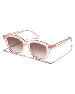 CRYSTAL PINK ROSE WOMENS ACCESSORIES VALLEY SUNGLASSES - S0378CRPNK