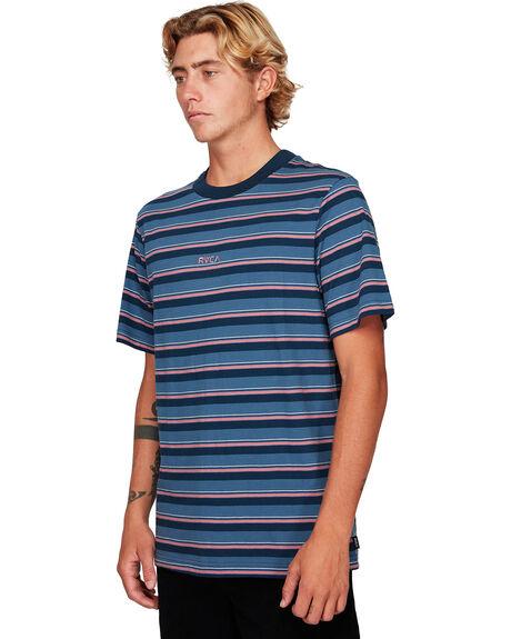 CHINA BLUE MENS CLOTHING RVCA TEES - RV-R192052-CNU