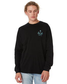 BLACK MENS CLOTHING SWELL TEES - S52011104BLACK