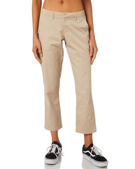 OXFORD TAN WOMENS CLOTHING VOLCOM PANTS - B1111800OXF
