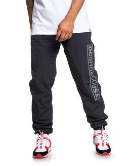 BLACK MENS CLOTHING DC SHOES PANTS - EDYNP03156-KVJ0