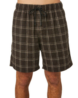 DARK COFFEE MENS CLOTHING RUSTY SHORTS - WKM1024DCF